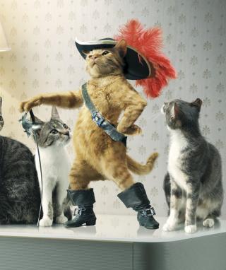 Puss in Boots - Obrázkek zdarma pro Nokia Asha 310