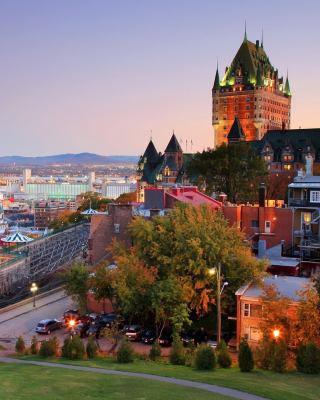 Quebec City and Port - Obrázkek zdarma pro 360x480