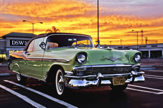 Free Chevrolet Classic Convertible 1956 Picture for Android, iPhone and iPad