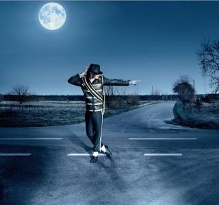 Dancing Michael Jackson - Obrázkek zdarma pro 128x128