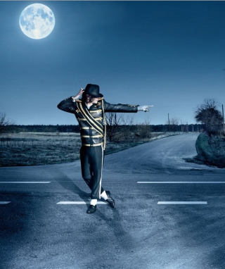Dancing Michael Jackson - Obrázkek zdarma pro Nokia Asha 305
