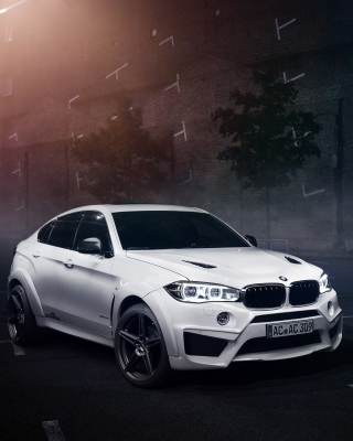 Free 2016 BMW X6M By AC Schnitzer Picture for Nokia Asha 303