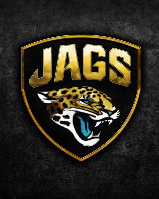 Jacksonville Jaguars NFL Team Logo - Obrázkek zdarma pro Nokia Lumia 820