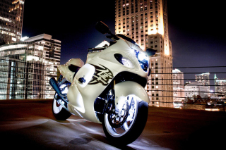 Suzuki Hayabusa - Obrázkek zdarma pro 1024x600