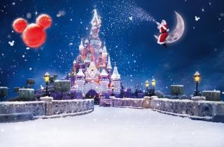 Santa On Moon - Obrázkek zdarma pro Samsung Galaxy Tab 10.1