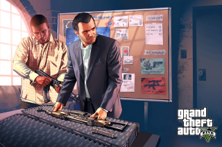 Grand Theft Auto V Mike Franklin - Fondos de pantalla gratis Stub device