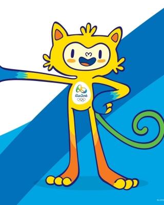 Olympics Mascot Vinicius Rio 2016 - Obrázkek zdarma pro 176x220