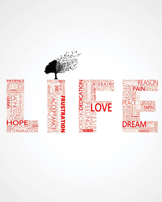 Love Trees - Obrázkek zdarma pro Nokia Lumia 822