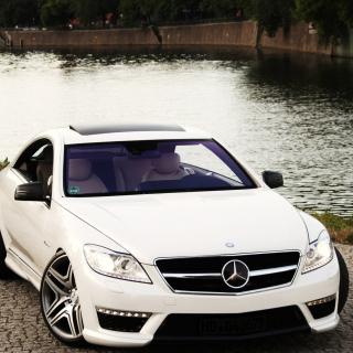 Mercedes Benz CL63 AMG - Obrázkek zdarma pro 208x208