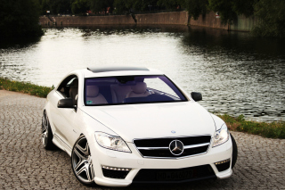 Mercedes Benz CL63 AMG Picture for Android, iPhone and iPad