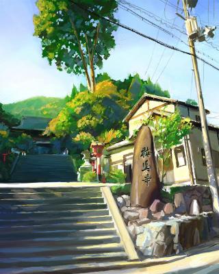 Kyoto, Japan - Obrázkek zdarma pro 240x432