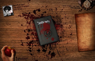 Free Death Note Picture for Android, iPhone and iPad