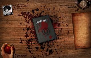 Death Note - Obrázkek zdarma pro Android 1600x1280