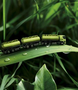 Green Truck - Obrázkek zdarma pro 480x854