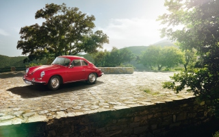 Classic Porsche Coupe Wallpaper for Android, iPhone and iPad