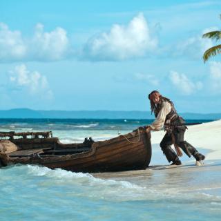 Pirate Of The Caribbean - Obrázkek zdarma pro iPad 2