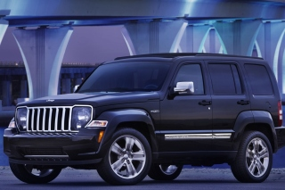 Jeep Liberty Sport Background for Android, iPhone and iPad