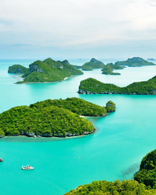 Mu Ko Ang Thong National Park in Thailand - Obrázkek zdarma pro Nokia Lumia 820