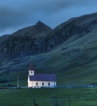 Night In Iceland - Obrázkek zdarma pro 128x128