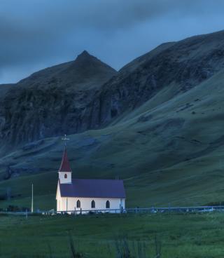Night In Iceland - Obrázkek zdarma pro Nokia Asha 203