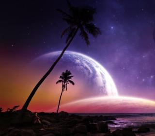 Space Island - Obrázkek zdarma pro iPad Air
