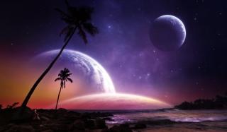 Space Island - Obrázkek zdarma pro Samsung Galaxy S6