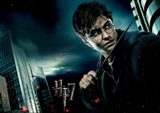 Harry Potter And The Deathly Hallows Part-1 - Obrázkek zdarma pro 1366x768