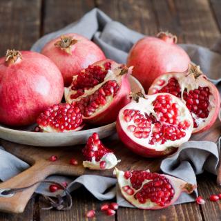 Fresh Pomegranates - Obrázkek zdarma pro 128x128