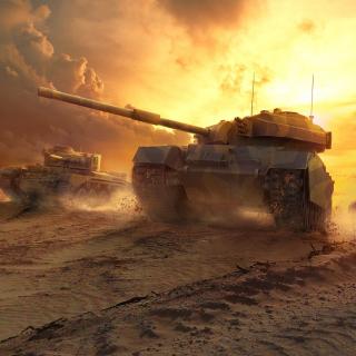 World of Tanks - Obrázkek zdarma pro iPad Air