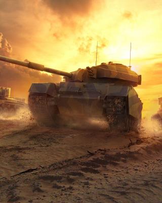 World of Tanks - Obrázkek zdarma pro Nokia Asha 310
