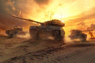 World of Tanks - Obrázkek zdarma pro Desktop Netbook 1024x600