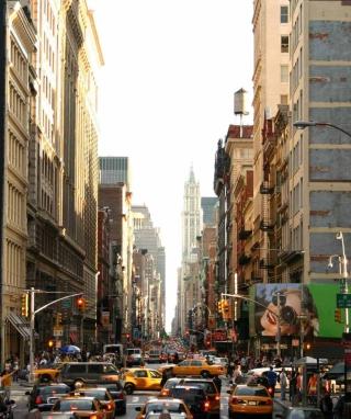 New York Streets - Obrázkek zdarma pro Nokia C6