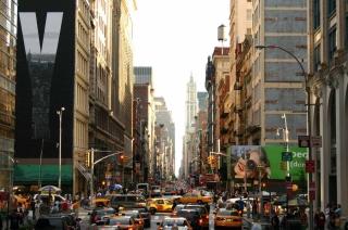 New York Streets - Obrázkek zdarma pro 1200x1024