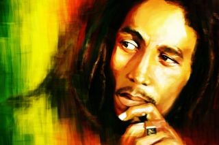 Bob Marley Painting - Obrázkek zdarma pro Widescreen Desktop PC 1440x900