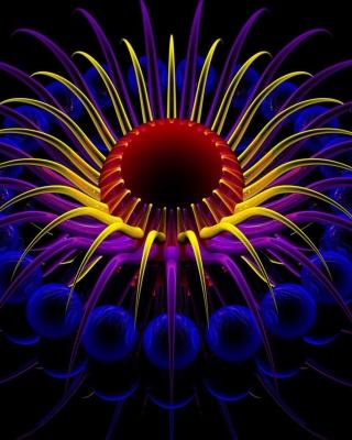 Neon Lights - Obrázkek zdarma pro Nokia C1-01