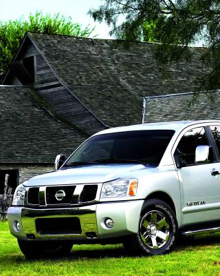 Nissan Titan - Obrázkek zdarma pro 360x480