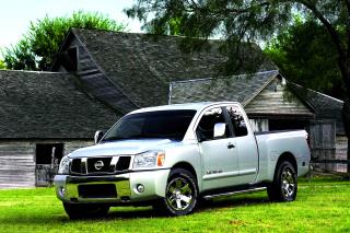 Nissan Titan - Obrázkek zdarma pro 320x240