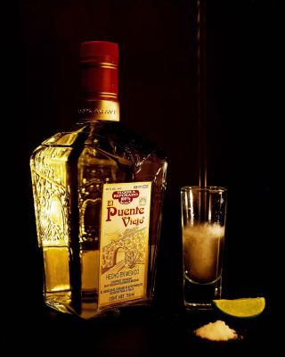 El puente Viejo Tequila with Salt - Obrázkek zdarma pro 240x400