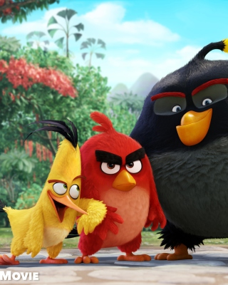 Angry Birds the Movie 2015 Movie by Rovio - Obrázkek zdarma pro iPhone 5C