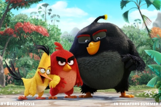 Angry Birds the Movie 2015 Movie by Rovio - Obrázkek zdarma pro Samsung T879 Galaxy Note