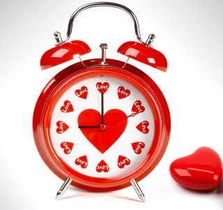 Love O'clock - Obrázkek zdarma pro 1024x1024