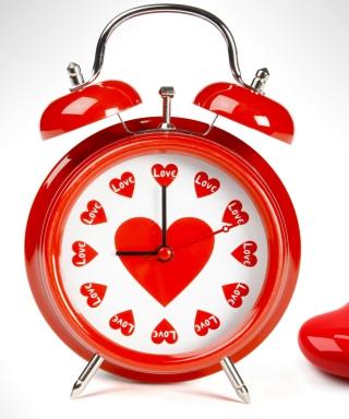 Love O'clock - Obrázkek zdarma pro Nokia Asha 202