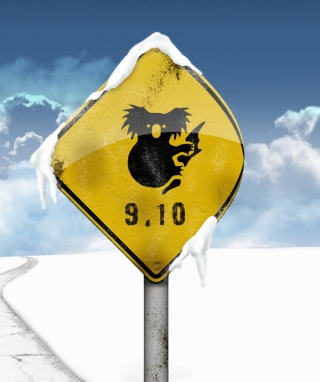 Koala Sign - Obrázkek zdarma pro 360x480