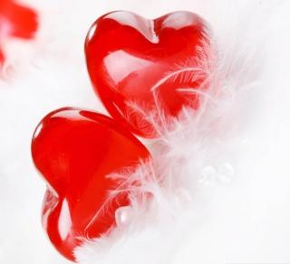 Red Hearts - Obrázkek zdarma pro iPad mini 2