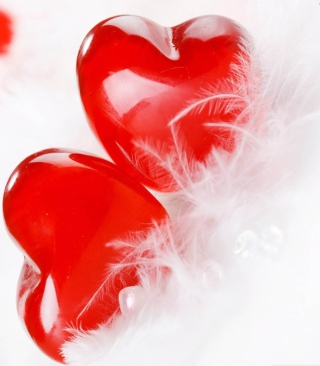 Red Hearts - Obrázkek zdarma pro Nokia Asha 311