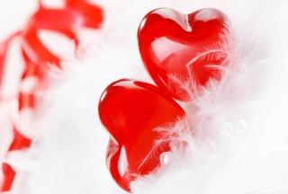 Red Hearts - Obrázkek zdarma pro Nokia Asha 201