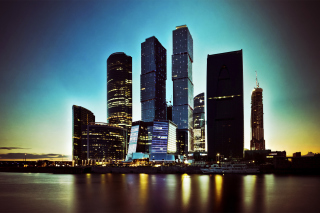 Free Moscow City Skyscrapers Picture for Android, iPhone and iPad