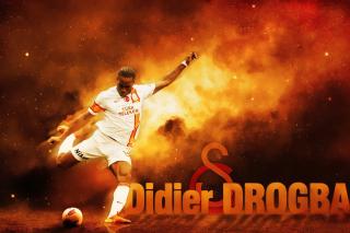 Didier Drogba - Obrázkek zdarma pro Samsung Galaxy Tab 4 8.0