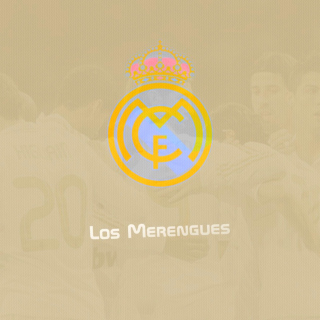 Real Madrid Los Merengues - Obrázkek zdarma pro iPad Air