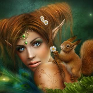 Elf - Obrázkek zdarma pro iPad 2